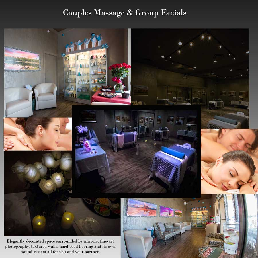 Best Couples Massage - Facial Spa Packages in Scottsdale