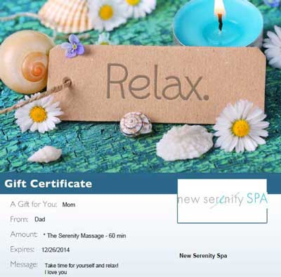 Gift-Cards Scottdale-Spa-Gift New-Serenity-Spa